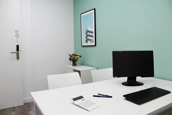 Despacho S, interior con todo lo que necesitas para trabajar