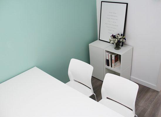 despacho S, mesa de trabajo