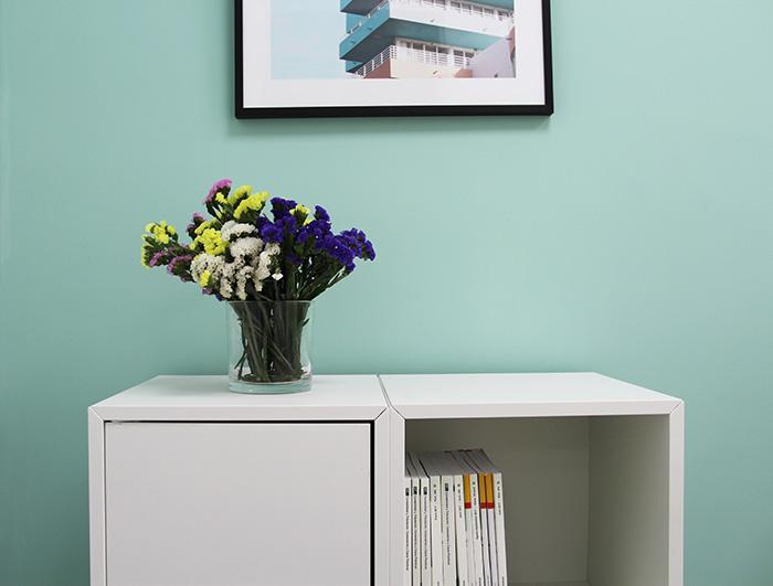 almacenaje y flores