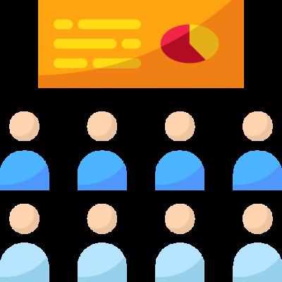reuniones y presentaciones